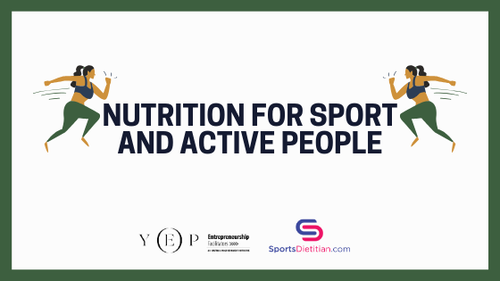 Nutrition for sport and active people