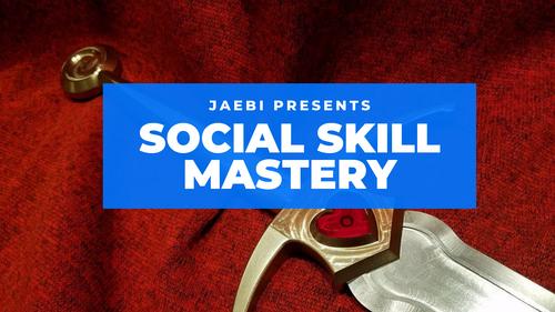 Social Skill Mastery Program 2019