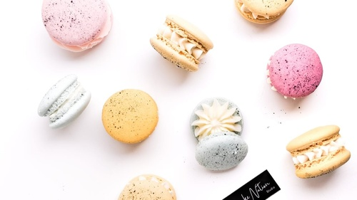 Eggless Aquafaba less Macarons