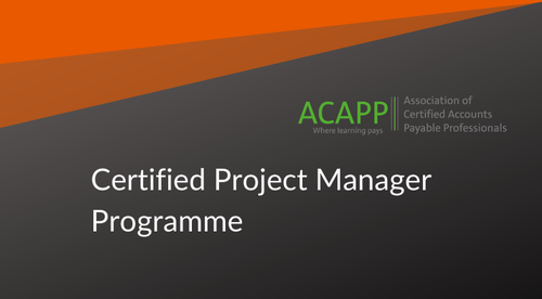 Certified AP & P2P Project Manager (Releasing Soon)