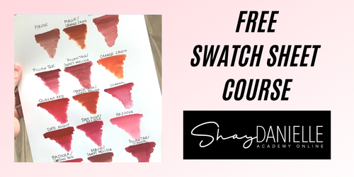FREE SWATCH SHEET MINI COURSE   How and Why?