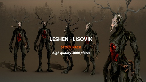 Leshen Creature - Stock Pack
