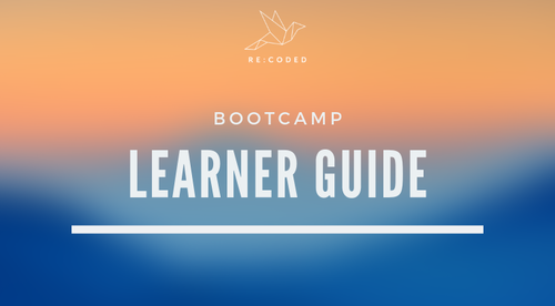 Bootcamp Learner Guide