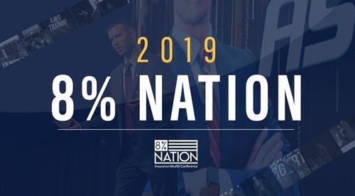 8% Nation 2019