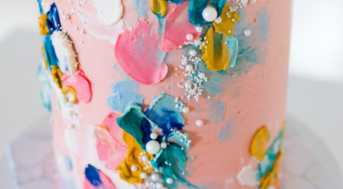 Abstract Buttercream Painting Course