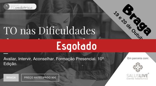 TO nas Dificuldades de Escrita Manual - Braga - 19/20.Out.2019
