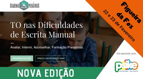 TO nas Dificuldades de Escrita Manual - Figueira da Foz - 22/23.Fev.2020