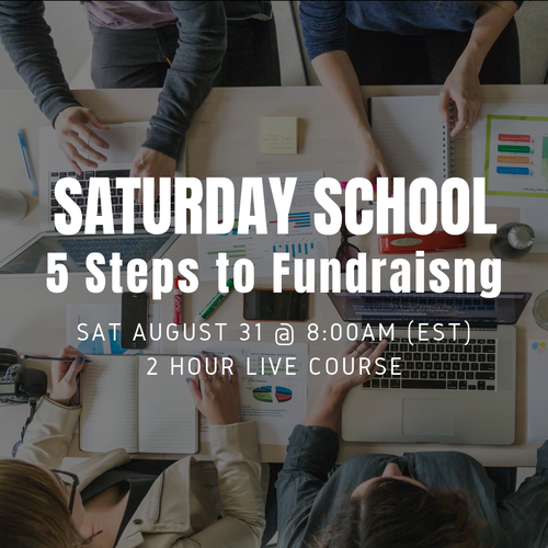 5 Steps to Fundraising