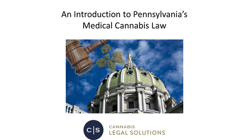 Clearing the Smoke: A Review of PA Medical Marijuana (1 PA Substantive CLE Credit)