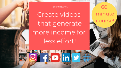 Create videos  that generate more income for  less effort!