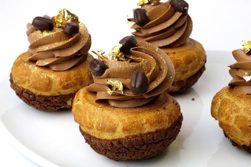 Choux Arábiga de Chocolate