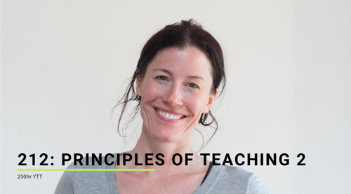 212: Principles of Teaching 2