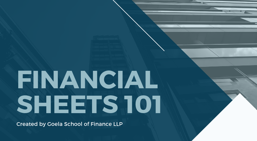 Financial Sheets 101