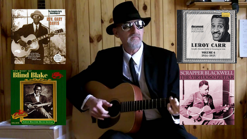 Acoustic Blues Guitar Lessons - Scrapper Blackwell & Company