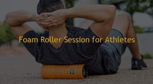 Foam Roller Session for Athletes