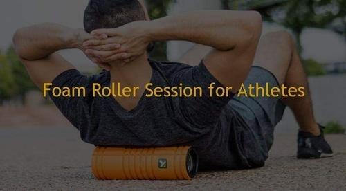 Foam Roller Session for Athletes