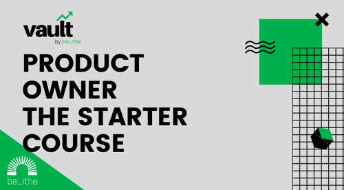 Product Owner: The Starter Course