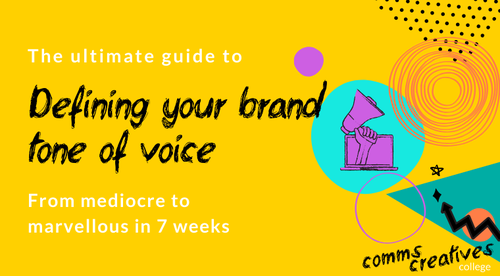 The ultimate guide to defining your brand's tone of voice 2020