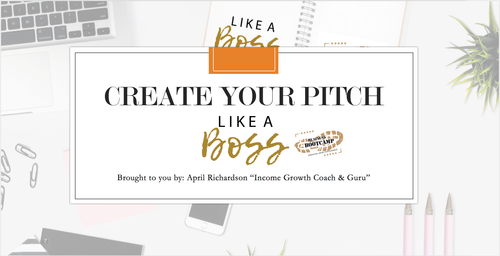 Create Your Pitch