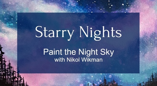 Starry Nights - Paint the night sky with me!