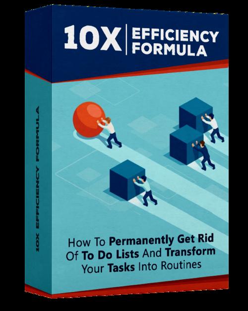 Efficiency maximizer formula