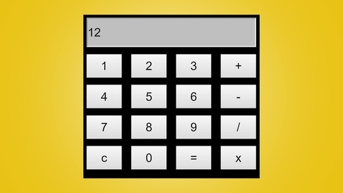 Javascript Calculator: Build a Calculator using HTML, CSS and Javascript