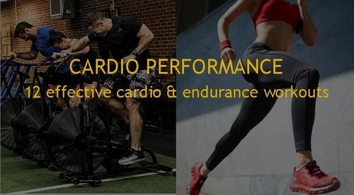 CARDIO PERFORMANCE - 12 WORKOUTS