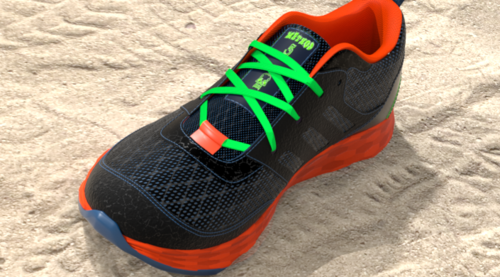 Athletic Footwear Modeling in Modo: Procedural Method
