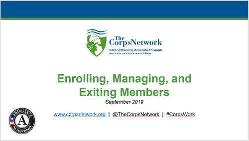 Enrolling, Managing, and Exiting Members