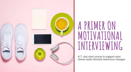 A Primer on Motivational Interviewing