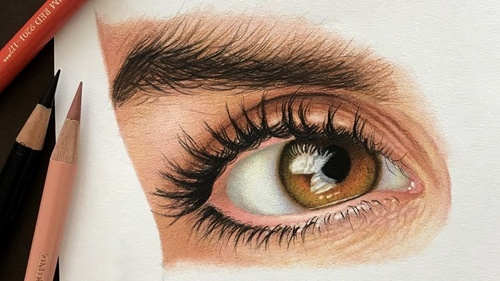 The Colored Pencil Drawing Techniques Course