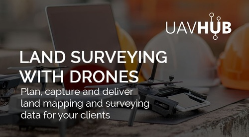 Land Surveying with Drones