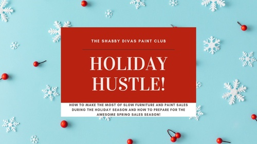 Holiday Hustle-A Mini Workshop (to boost sales this holiday season)