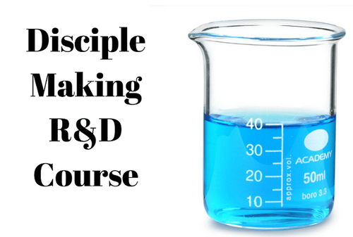 The Discipleship R&D Pilot Course