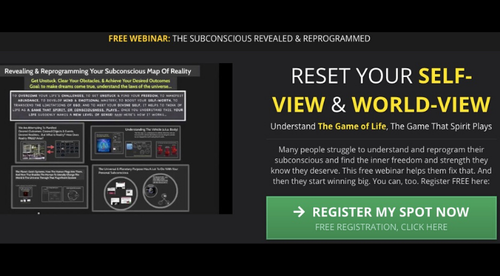 FREE Webinar: The Subconscious Reprogrammed (Reset Your World-View & Self-View)