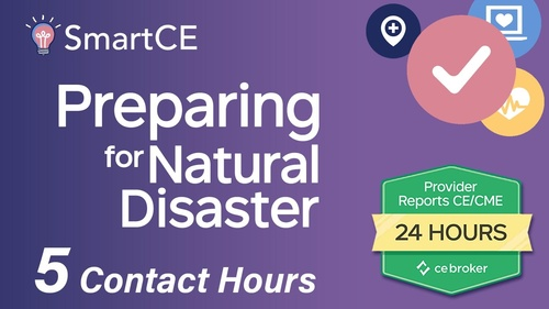 Preparing for Natural Disaster - 1 Contact Hour/ 20-684897