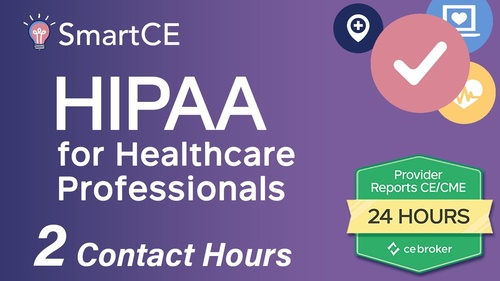 HIPAA for Healthcare Professionals - 2 Contact Hours/20-684877