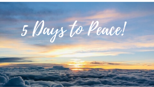 5 Days To Peace