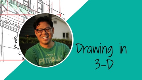 COURSE: Drawing 2- Drawing in 3-D