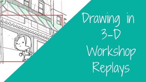 WORKSHOP: Drawing 2-Drawing in 3-D