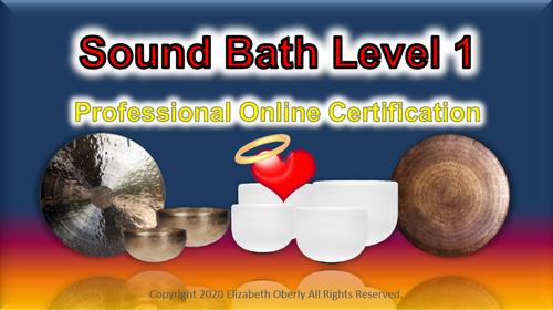 Sound Bath Certification Level 1