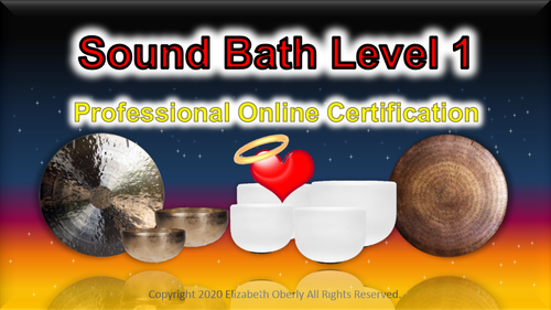 Sound Bath Certification Level 1