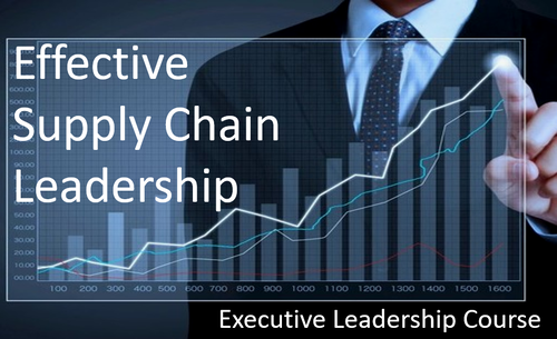 Effective Supply Chain Leadership,   Executive On-Line Course,  3 Lessons (Twenty Minutes Each) Free to New Registrants