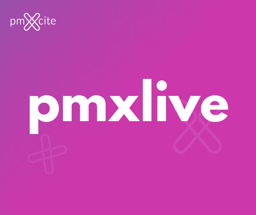 Weekly pmxlive sessions