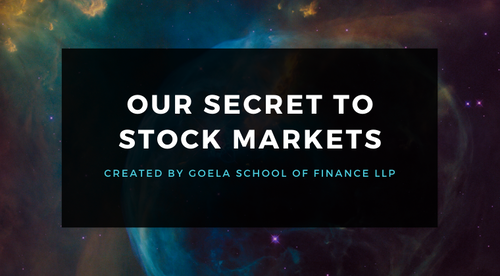 Our Secret To Stock Markets
