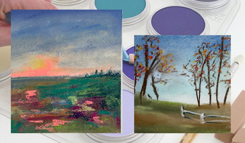 Quick Landscapes With Pan Pastels