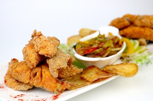 Chips de Mojarra