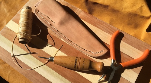 How to Make a Leather Knife Sheath: Basic Leatherworking Tools & Techniques