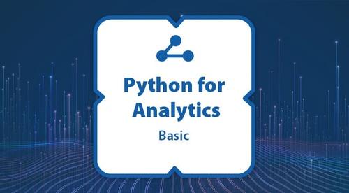 Certification: Python for Analytics - Basic