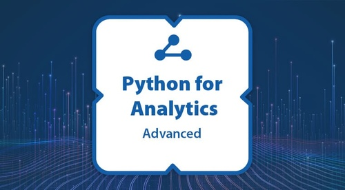 Certification: Python for Analytics - Advanced